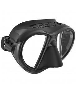 Zeus maschera da sub Cressi - DS475009 - NERO