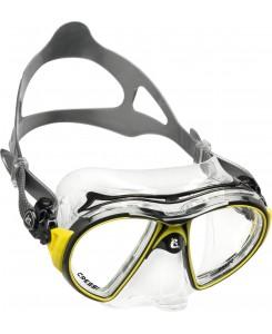 Air Crystal maschera da sub Cressi - DS4000 - NERO-GIALLO