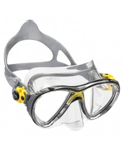 Big eyes evolution Crystal maschera da sub Cressi - DS3400 - BIANCO - GIALLO