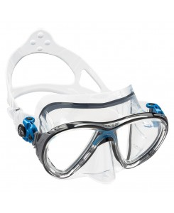 Big eyes evolution clear maschera da sub Cressi - DS3365 - BIANCO - BLU
