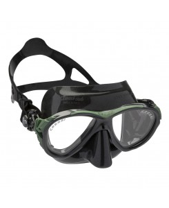 MASCHERA DA SUB EYES EVOLUTION BLACK CRESSI - NERO - VERDE
