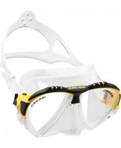 Matrix maschera da sub Cressi - DS3010 - BIANCO-GIALLO