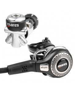 Mares First and Second Stage Regulator AbyssNX - ARGENTO