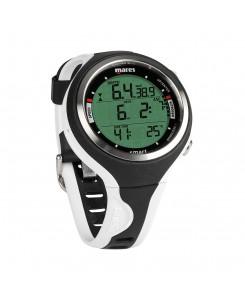 Smart Dive orologio subacqueo Mares - NERO-BIANCO