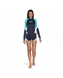 Rash guard loose fit long...