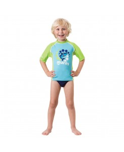 Rash guard kid short sleeve...