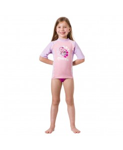 Rash guard short sleeve kid...