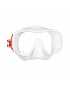 Juno diving mask Mares - BIANCO - ROSSO