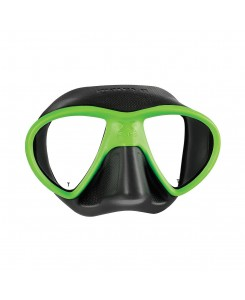 X-Free maschera da sub Mares - NERO - VERDE