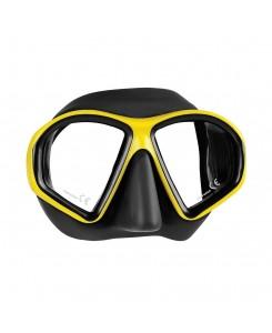 Sealhouette maschera da sub Mares - NERO - GIALLO