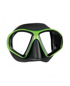 Sealhouette maschera da sub Mares - NERO - VERDE