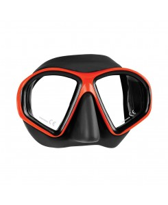Sealhouette diving mask Mares - NERO-ROSSO