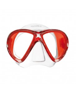 X-Vu maschera da sub Mares - ROSSO