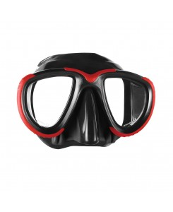 Maschera da sub Tana Mares - NERO-ROSSO