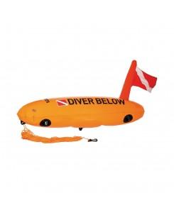 Torpedo buoy by Mares - ARANCIONE