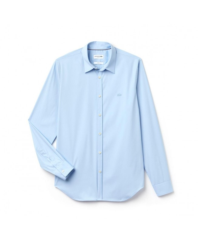 e6cc769fa3 Lacoste Men's Slim Fit Stretch Cotton Poplin Shirt CH9628