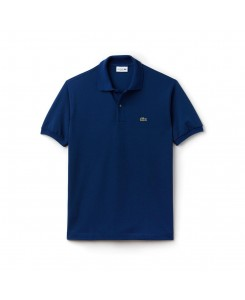 Lacoste L.12.12 polo in cotton petit piqué - Q1Y MARINO