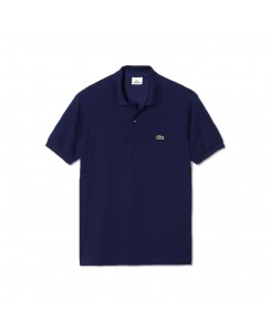 Lacoste L.12.12 polo in cotton petit piqué - 166 MARINE