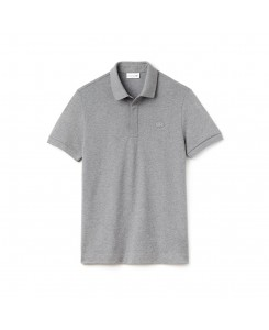 Lacoste Men's Paris Polo Regular Fit Stretch Cotton Piqué PH5522 - SVY GALAXITE CHINE