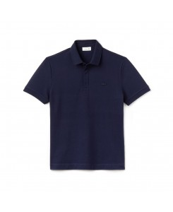 bcae2dba4b Lacoste Men s Paris Polo Regular Fit Stretch Cotton Piqué PH5522 - 166  MARINE