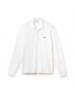 Long sleeve Lacoste Polo Shirt L.12.12 - 001 BLANC