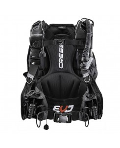 Commander evolution Equilibratore BCD Cressi - IC77100 - NERO
