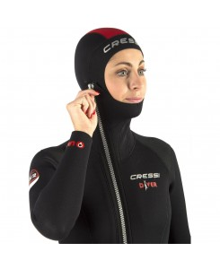 Diver muta umida 7mm donna Cressi - LU489701 - NERO
