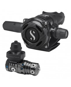 Scubapro Regulator First and Second Stage MK25 EVO and A700 CBT - BLACK TECH