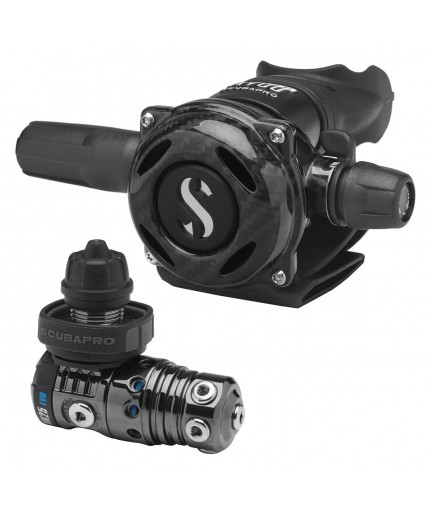 MK25 Evo e A700 Carbon Black Tech Scubapro - 12.770.800