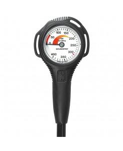 Scubapro Compact S Pressure Gauge - NERO