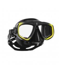 Zoom evo mask Scubapro - 24.157.001 - NERO - GIALLO