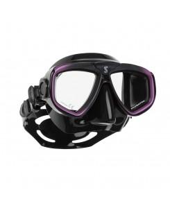Zoom evo mask Scubapro - 24.157.001 - NERO - VIOLA