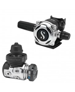 Scubapro Regulator First and Second Stage MK17 EVO and A700 - NERO-GRIGIO