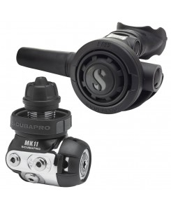 Scubapro Regulator First and Second Stage MK11 and R095 - NERO-GRIGIO