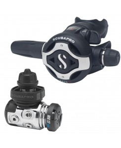Scubapro Regulator First and Second Stage MK17 EVO e S620Ti - NERO-GRIGIO