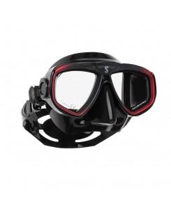 Zoom evo mask Scubapro - 24.157.001 - NERO-ROSSO