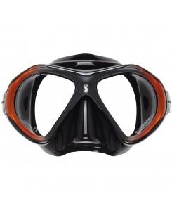 Spectra mini mask Scubapro - 24.851.220 - NERO-ROSSO