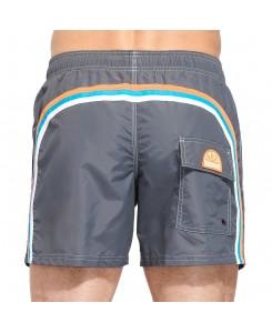 Sundek pantaloncino mare medio vita elasticata M504BDP0223 - 521 MEDIUM GREY #5