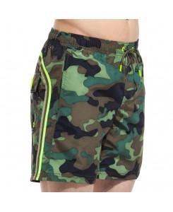 Sundek Elastic Waist Long Board Shorts M505BDP0153