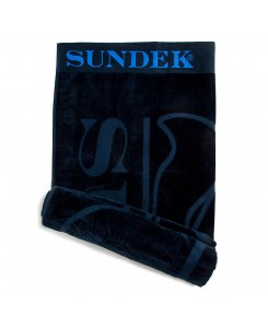 Sundek Beach Towel Logo - 007 NAVY