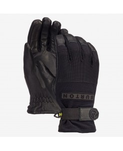 Men's Burton Daily Leather Glove - TRUE BLACK