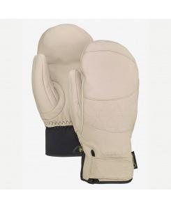 Guanti da donna gondi gore tex leather mitten Burton - CRÈME BRÛLÉE