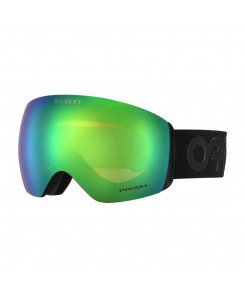 MASCHERA DA NEVE FLIGHT DECK OAKLEY - FACTORY PILOT BLACKOUT / PRIZM JADE IRIDIUM