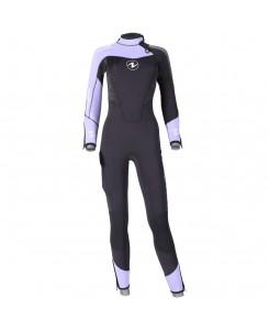 Dynaflex jumpsuit subacquea 7mm Aqualung - ROSA