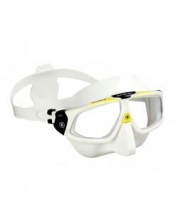 Sphera x 2020 nuova maschera da sub Aqualung - BIANCO-GIALLO