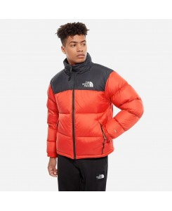 Giacca da uomo ripiegabile 1996 Retro Nuptse North Face - FIERY RED