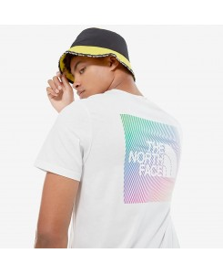 T-Shirt da uomo Rainbow 4M6P The North Face P/E 2020 - TNF WHITE / TNF LEMON