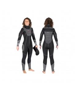 Muta Flexa Graphene donna per sub Mares - GRIGIO