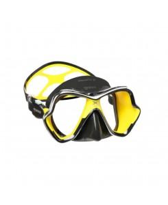 X-Vision Chrome Liquidskin maschera da sub Mares 2020 - GIALLO