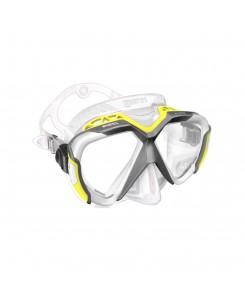 Maschera da sub x-wire Mares 2020 - GIALLO